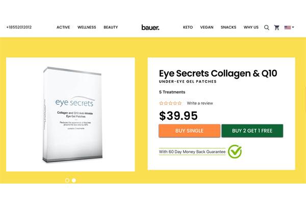 eye secrets collagen and q10