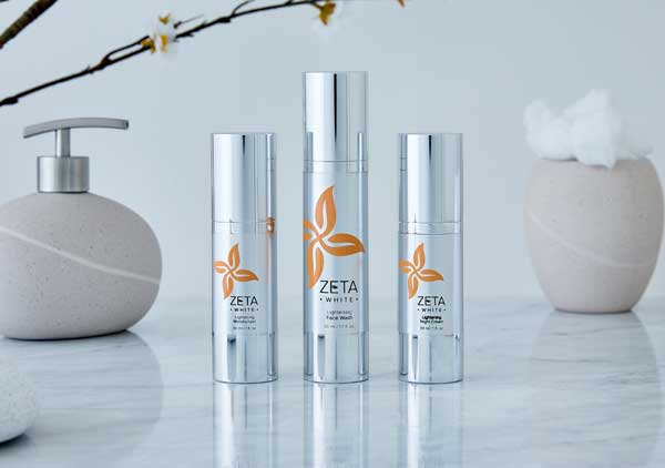 ZetaWhite natural skin lightening products